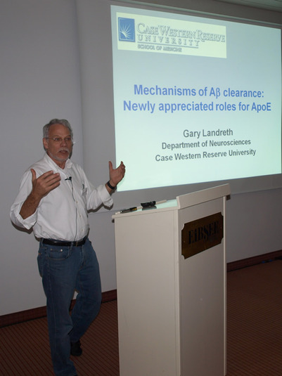 Talk of Gary Landreth: Mechanisms of Abeta clearance from the brain: Newly appreciated roles for ApoE