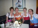 Participants of the Bavarian Evening