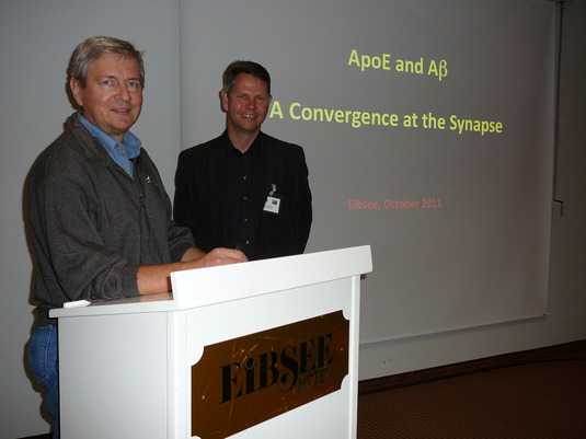 Joachim Herz and Claus Pietrzik, Toxicity and aggregation session